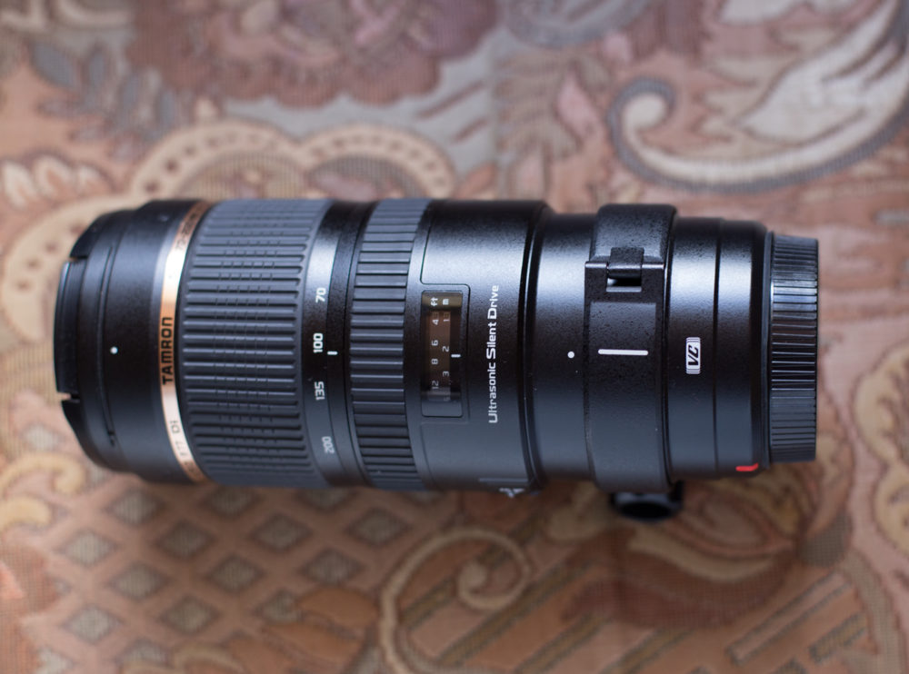 Tamron SP 70-200mm F/2.8 Di VC USD. My review